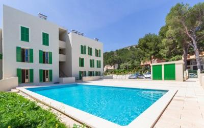 Newly built apartments  within walking distance of town for sale in Puerto Pollensa, Mallorca