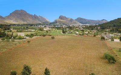 Large plot in great location for sale in Pollensa, Mallorca