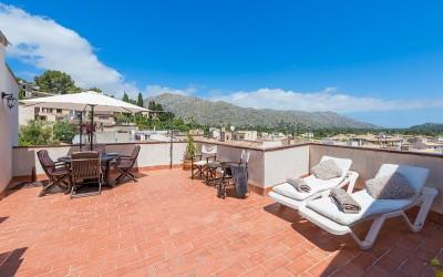 Beautiful Mallorca town house for sale in old town Pollensa, Mallorca