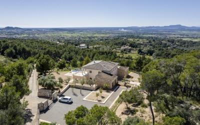 Stunning newly built villa with designer finishes for sale near Felanitx, Mallorca