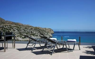 Excellent penthouse apartment with magnificent sea views in Cala San Vicente, Mallorca