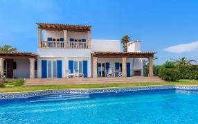 Front line villa with spectacular views for sale in Cala d''Or, Mallorca
