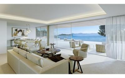Project to build a modern villa for sale in Alcanada, Alcúdia, Mallorca