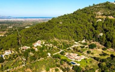 Luxury country home with rental license for sale in Puig de Santa Magdalena, Mallorca