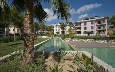Garden apartment for sale in Camp de Mar, Mallorca