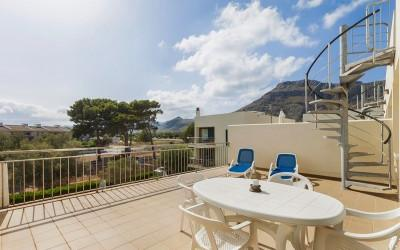 Nice duplex apartment in walking distance to the sea, Puerto Pollensa