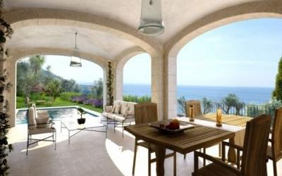 Luxury villa with sea view and large pool in Deià, Mallorca