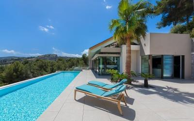 Magnificent brand-new villa for sale in Son Vida, Mallorca
