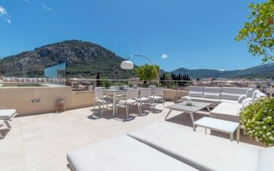 Elegant town house for sale in the heart of Pollensa, Mallorca