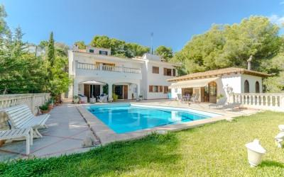 Villa located in the exclusive residential area of Costa den Blanes, Mallorca