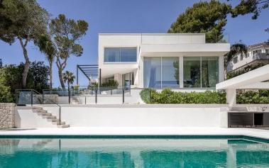 Newly built villa with beautiful sea views in Costa d'en Blanes, Mallorca