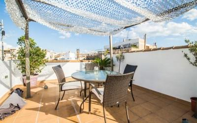Penthouse near Paseo del Borne with private terrace in Palma, Mallorca
