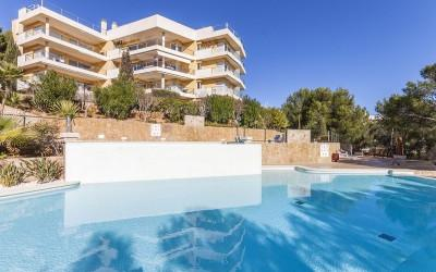 Ground floor property with private garden in Sol de Mallorca