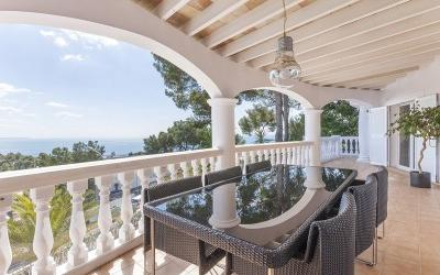 Beautiful villa for sale in Costa d'en Blanes, Mallorca