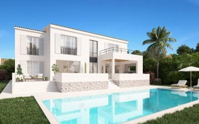 Brand new, sea view villa for sale in Santa Ponsa, Mallorca