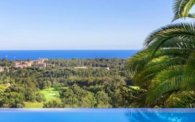 Sea view villa in Golf de Bendinat, Mallorca