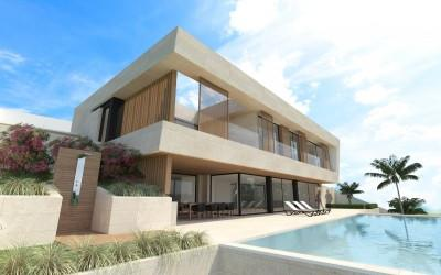 Luxury project of Villa for sale in Costa de'n Blanes, Mallorca