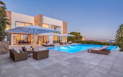 Sea view villa for sale in Bendinat, Mallorca