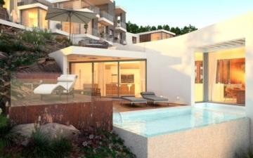 Villa under construction with beautiful views for sale in Santa Ponsa, Mallorca