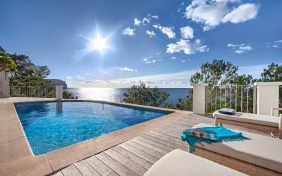 Impressive villa for sale with dreamlike sea views for sale in Puerto Andratx, Mallorca