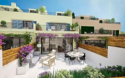 Brand new development with top quality townhouses for sale in Genova, Palma de Mallorca