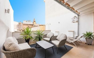 Renovated townhouse for sale in the old town of Palma, Mallorca