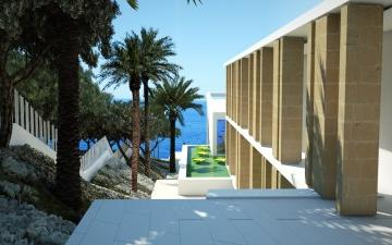 Villa in first sea line for sale in Sol de Mallorca