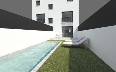 Lovely ground floor apartment with private pool and garden for sale in Palma
