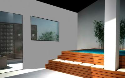 Duplex townhouse with pool, gym and sauna in the centre of Palma, Mallorca