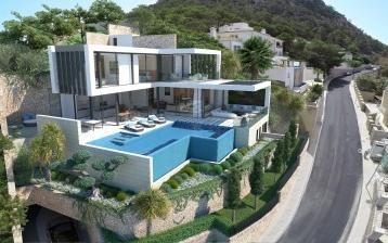 Luxurious mansion for sale in top location in Andratx, Mallorca