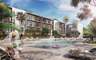 Newly build apartments for sale in a luxury community in Ibiza