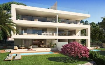 Luxury apartments in a new development for sale in Talamanca, Ibiza