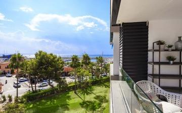 Renovated apartment in the most sought after residential complex of Puerto Portals, Mallorca