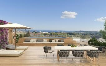 Newly built luxury penthouse for sale in a development in Son Quint, Palma