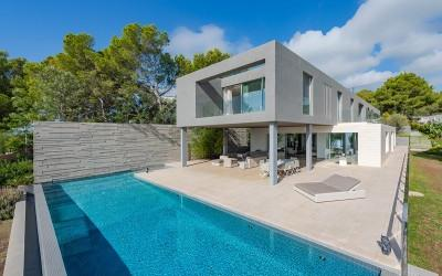 Newly built sea view villa for sale in Costa d´en Blanes, Mallorca