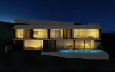 Fantastic plot with Project for sale in Costa d´en Blanes, Mallorca