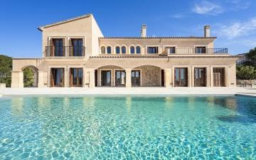 Newly built finca for sale in Camp de Mar, Andratx Mallorca