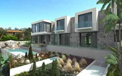 Modern villa project with pool for sale in Cala Vinyes