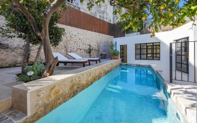 Immaculately restored town house for sale in Pollensa, Mallorca