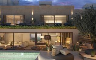 Brand new townhouse with pool for sale in the village of Gènova, Mallorca