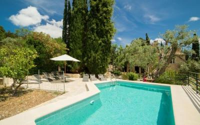 Country Manor in the Tramuntana mountains for rental in Pollensa