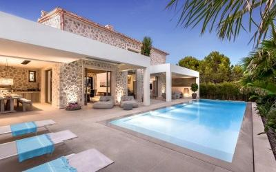 Brand new villa for sale in an exclusive neighbourhood of Santa Ponsa, Mallorca