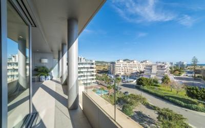 Three bedroom apartment located on the fifth floor of a community in Ibiza Town, Ibiza
