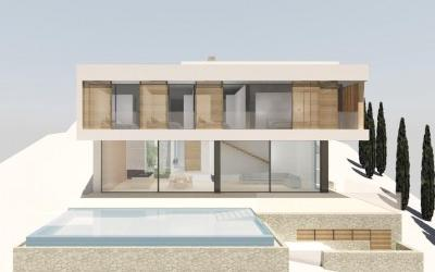 Residential plot with luxury villa project for sale in Son Vida, Mallorca