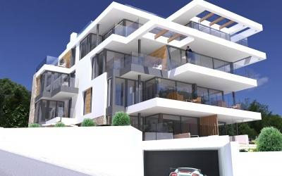 Newly built apartments with sea views for sale in Sant Agusti, Mallorca