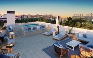 Brand new penthouse with private pool for sale in Palma, Mallorca