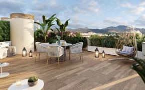 Modern penthouse with private roof top terrace for sale in Palma, Mallorca
