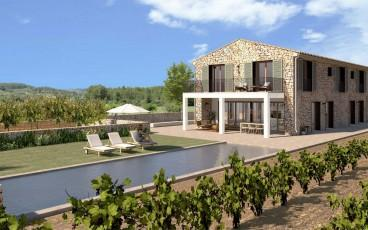 Luxurious country property with vineyard for sale in Alcudia, Mallorca