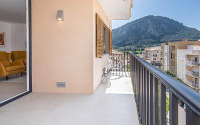 Recently refurbished apartment for sale in Pollensa, Mallorca