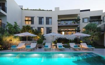 Chic luxury apartment with community pool, for sale in Santa María, Mallorca